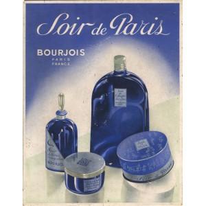 BOURJOIS -Eau de cologne Soir de Paris