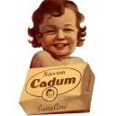 CADUM - Savon Lanoliné - Fond noir
