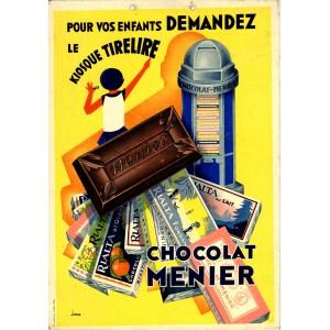 CHOCOLAT MENIER - Kiosque tirelire