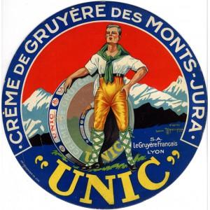 UNIC - Crème de gruyere du Jura